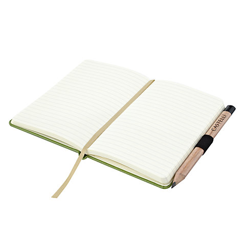 Buy Castelli Ruled Jotter Notebook, Small Online at johnlewis.com