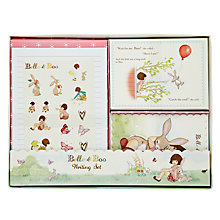 Buy Belle & Boo Writing Set Online at johnlewis.com