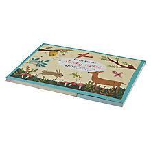 Buy Chronicle Books Forest Friends Sticky Notes, Pack of 8 Online at johnlewis.com