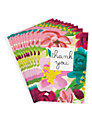 Caroline Gardner Bright Floral Thank You Notecards, Pack of 8