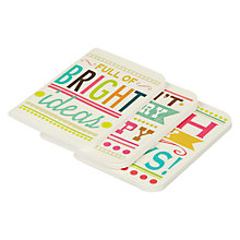 Buy Caroline Gardner Say So Pocket Notebook, Set of 3 Online at johnlewis.com
