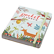 Buy Chronicle Books Forest Friends Pocket Planner Online at johnlewis.com