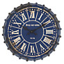 John Lewis Bottle Top Wall Clock, Blue