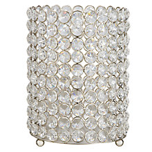 Buy John Lewis Crystal Bead Candle Holder Online at johnlewis.com