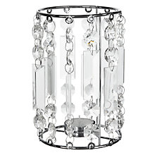 Buy John Lewis Crystal Droplet Tealight Holder Online at johnlewis.com
