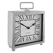 Buy John Lewis Carriage Clock, Silver Online at johnlewis.com
