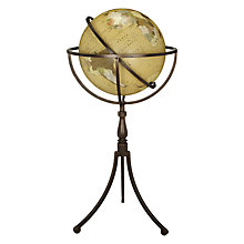 Buy John Lewis Floor Standing Globe, Large Online at johnlewis.com