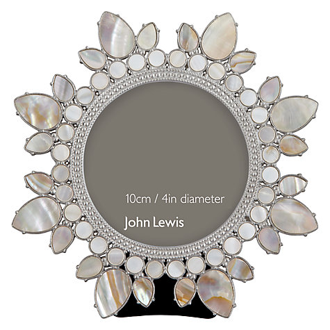 "Buy John Lewis Flower Picture Frame, Dia.4"" (10cm) Online at johnlewis.com"