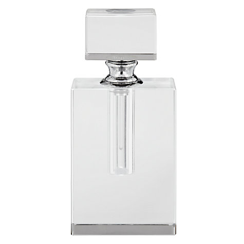 Buy John Lewis Rectangular Shaped Crystal Perfume Bottle Online at johnlewis.com