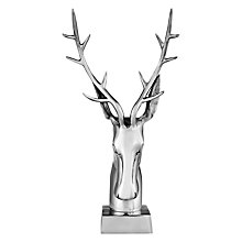 Buy Libra Stag Head, Nickel Finish Online at johnlewis.com