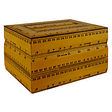 Buy John Lewis Vintage Ruler Box, Large Online at johnlewis.com