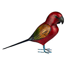 Buy John Lewis Decorative Colourful Parrot Online at johnlewis.com