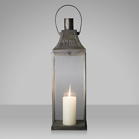 Buy John Lewis 1768 Metal Candle Lantern Online at johnlewis.com