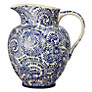 John Lewis Patterned Ceramic Jug, Blue