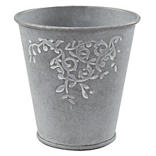 Buy John Lewis Zinc Leaf Trail Votive Online at johnlewis.com