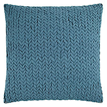 Buy John Lewis Rhythm Cushion, Teal Online at johnlewis.com