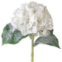 Buy Parlane Artificial Flocked Hydrangea Spray Online at johnlewis.com