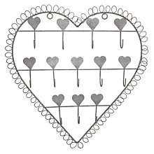 Buy John Lewis Metal Heart Hanger Online at johnlewis.com