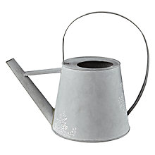 Buy John Lewis Zinc Leaf Trail Watering Can Online at johnlewis.com