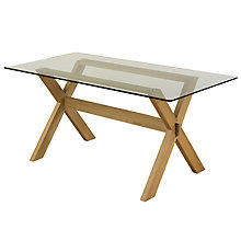 Buy John Lewis Gene Rectangular 6-Seater Dining Table Online at johnlewis.com