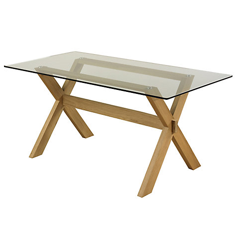 Lewis Gene Rectangular 6 Seater Dining Table Online At