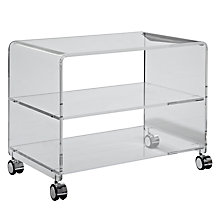 "Buy John Lewis Ice TV Trolley for up to 26"" TVs Online at johnlewis.com"