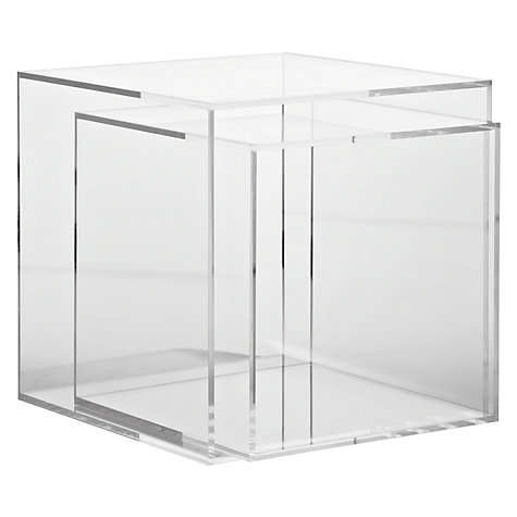 Buy John Lewis Ice Cube Nest of 2 Tables Online at johnlewis.com