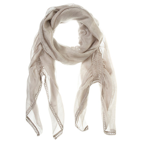 Buy Mint Velvet Gauzy Scarf Online at johnlewis.com