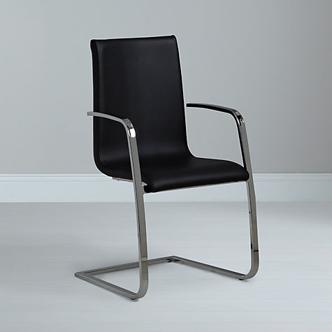 Buy John Lewis Frost Leather Dining Armchair Online at johnlewis.com
