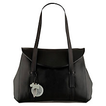Buy Radley Sherwood Large Flap Over Tote Bag, Black Online at johnlewis.com