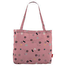 Buy Radley On the Dot Fold Away Tote Handbag, Pink Online at johnlewis.com