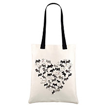 Buy Radley Doodle Dog Shopper Handbag, Elderflower Online at johnlewis.com