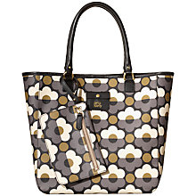 Buy Orla Kiely Sunset Flora Willow Shopper Handbag, Multi Online at johnlewis.com
