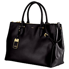 Buy Lauren by Ralph Lauren Newbury Double Zip Grab Bag Online at johnlewis.com