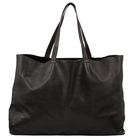 Buy Collection WEEKEND by John Lewis Morgan Leather Tote Bag Online at johnlewis.com