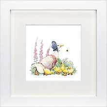 Buy Beatrix Potter Jemima Puddle-Duck Framed Print, 23 x 23cm Online at johnlewis.com