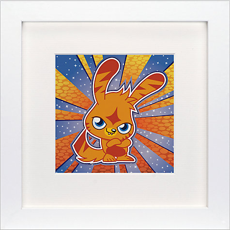 Buy Moshi Monsters Katsumas Framed Print, 23 x 23cm Online at johnlewis.com