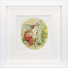 Buy Beatrix Potter - Jeremy Fisher Framed Print, 23 x 23cm Online at johnlewis.com