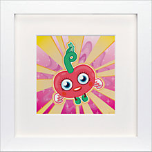 Buy Moshi Monsters Luvli Framed Print, 23 x 23cm Online at johnlewis.com