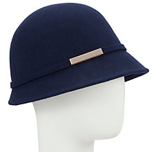 Buy John Lewis Cloche Hat, Navy Online at johnlewis.com