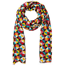 Buy Collection WEEKEND by John Lewis Diamond Print Scarf, Multi Online at johnlewis.com
