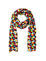 Collection WEEKEND by John Lewis Diamond Print Scarf, Multi