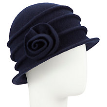 Buy John Lewis Wool Pleated Cloche Hat Online at johnlewis.com