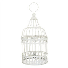 Buy Rex Round Bird Cage, Cream, Small Online at johnlewis.com