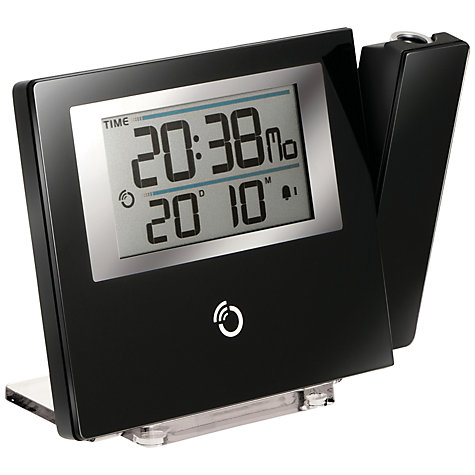 Buy Oregon Scientific Slim Projection Alarm Clock, Black Online at johnlewis.com