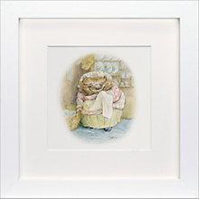 Buy Beatrix Potter - Mrs Tiggy-Winkle Framed Print, 23 x 23cm Online at johnlewis.com
