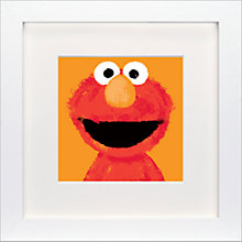 Buy Sesame Street - Elmo Framed Print, 23 x 23cm Online at johnlewis.com