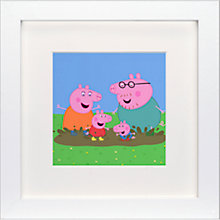 Buy Astley Baker Davies - Peppa Pig Framed Print, 23 x 23cm Online at johnlewis.com