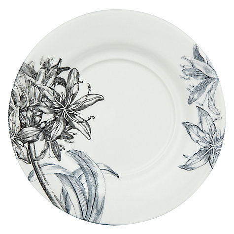 Buy Portmeirion Agapanthus Teacup & Saucer Online at johnlewis.com