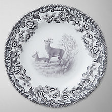Buy Spode Rural Delamere for John Lewis Side Plate, Dia.15cm, Grey Online at johnlewis.com